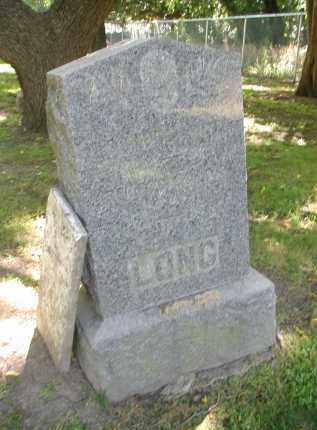 LONG, REBECCA - DuPage County, Illinois   REBECCA LONG - Illinois Gravestone Photos