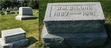 LONG, WILIAM C. - DuPage County, Illinois   WILIAM C. LONG - Illinois Gravestone Photos