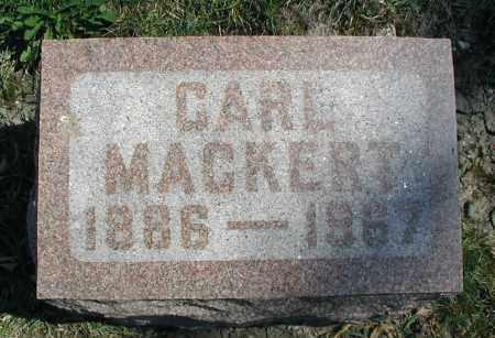 MACKERT, CARL - DuPage County, Illinois | CARL MACKERT - Illinois Gravestone Photos