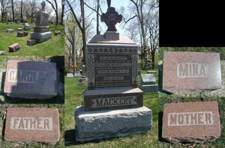 MACKERT, MINA - DuPage County, Illinois   MINA MACKERT - Illinois Gravestone Photos