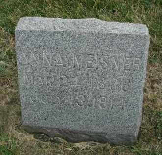 MEISNER, ANNA - DuPage County, Illinois | ANNA MEISNER - Illinois Gravestone Photos