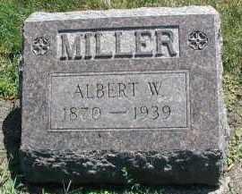 MILLER, ALBERT W. - DuPage County, Illinois | ALBERT W. MILLER - Illinois Gravestone Photos