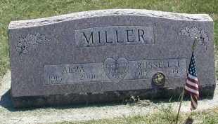 MILLER, RUSSELL J. - DuPage County, Illinois | RUSSELL J. MILLER - Illinois Gravestone Photos