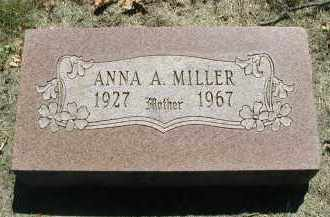 MILLER, ANNA A. - DuPage County, Illinois | ANNA A. MILLER - Illinois Gravestone Photos
