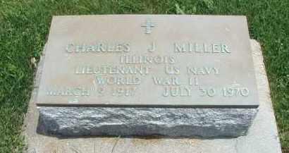 MILLER, CHARLES J. - DuPage County, Illinois   CHARLES J. MILLER - Illinois Gravestone Photos