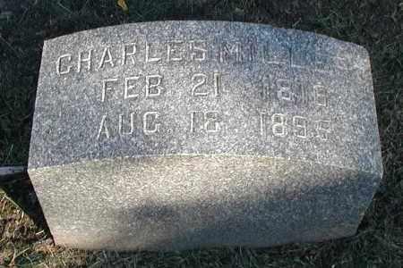 MILLER, CHARLES - DuPage County, Illinois | CHARLES MILLER - Illinois Gravestone Photos