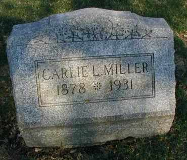 MILLER, CARLIE L. - DuPage County, Illinois   CARLIE L. MILLER - Illinois Gravestone Photos