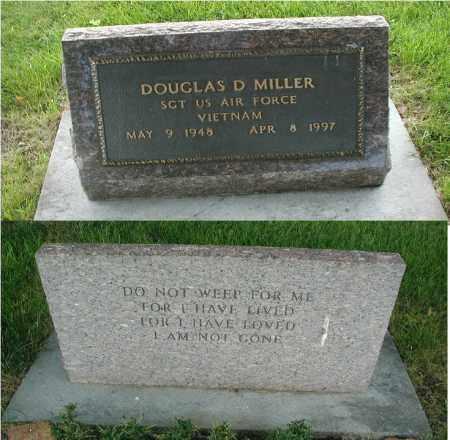 MILLER, DOUGLAS D. - DuPage County, Illinois | DOUGLAS D. MILLER - Illinois Gravestone Photos