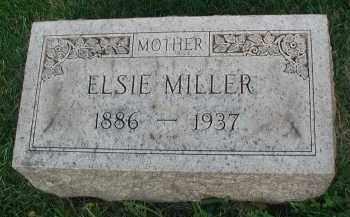 MILLER, ELSIE - DuPage County, Illinois | ELSIE MILLER - Illinois Gravestone Photos
