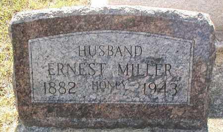MILLER, ERNEST - DuPage County, Illinois | ERNEST MILLER - Illinois Gravestone Photos