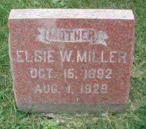 MILLER, ELSIE W. - DuPage County, Illinois | ELSIE W. MILLER - Illinois Gravestone Photos