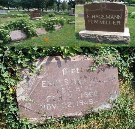 MILLER, ERNESTINA - DuPage County, Illinois | ERNESTINA MILLER - Illinois Gravestone Photos