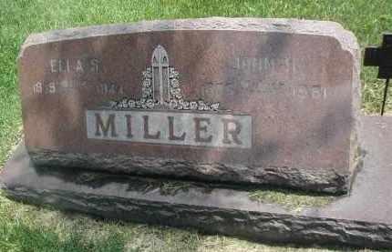 MILLER, ELLA S. - DuPage County, Illinois | ELLA S. MILLER - Illinois Gravestone Photos