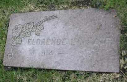 MILLER, FLORENCE - DuPage County, Illinois | FLORENCE MILLER - Illinois Gravestone Photos