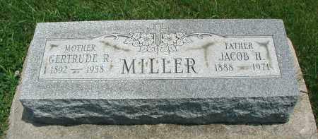 MILLER, JACOB H. - DuPage County, Illinois | JACOB H. MILLER - Illinois Gravestone Photos