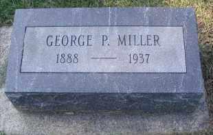 MILLER, GEORGE P. - DuPage County, Illinois | GEORGE P. MILLER - Illinois Gravestone Photos