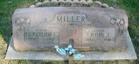 MILLER, JOHN J. - DuPage County, Illinois | JOHN J. MILLER - Illinois Gravestone Photos