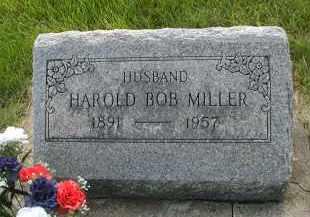 MILLER, HAROLD BOB - DuPage County, Illinois | HAROLD BOB MILLER - Illinois Gravestone Photos