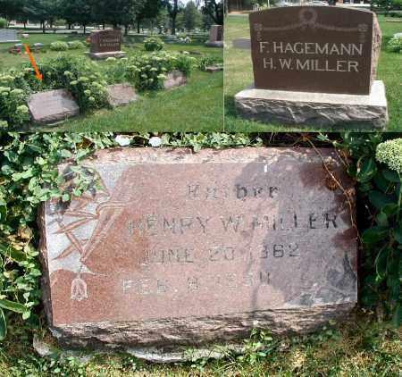 MILLER, HENRY W. - DuPage County, Illinois   HENRY W. MILLER - Illinois Gravestone Photos