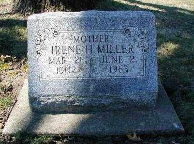 MILLER, IRENE H. - DuPage County, Illinois | IRENE H. MILLER - Illinois Gravestone Photos