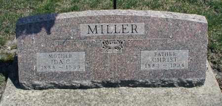MILLER, CHRIST - DuPage County, Illinois | CHRIST MILLER - Illinois Gravestone Photos