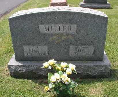 MILLER, WALTER E. - DuPage County, Illinois | WALTER E. MILLER - Illinois Gravestone Photos
