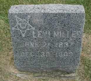 MILLER, LEVI - DuPage County, Illinois   LEVI MILLER - Illinois Gravestone Photos