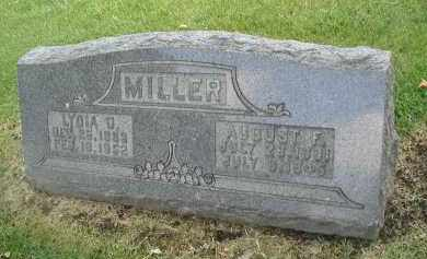 MILLER, AUGUST F. - DuPage County, Illinois | AUGUST F. MILLER - Illinois Gravestone Photos