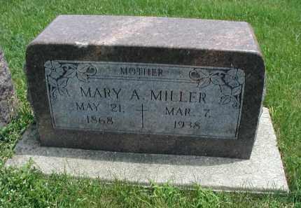 MILLER, MARY A. - DuPage County, Illinois | MARY A. MILLER - Illinois Gravestone Photos