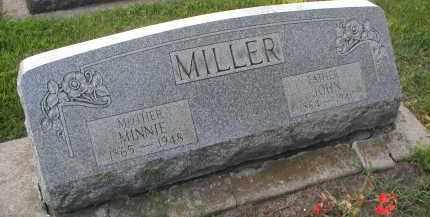 MILLER, MINNIE - DuPage County, Illinois | MINNIE MILLER - Illinois Gravestone Photos