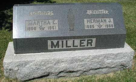 MILLER, MARTHA E. - DuPage County, Illinois | MARTHA E. MILLER - Illinois Gravestone Photos