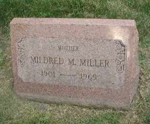 MILLER, MILDRED M. - DuPage County, Illinois | MILDRED M. MILLER - Illinois Gravestone Photos