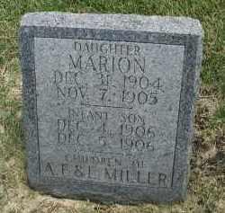MILLER, INFANT SON - DuPage County, Illinois | INFANT SON MILLER - Illinois Gravestone Photos