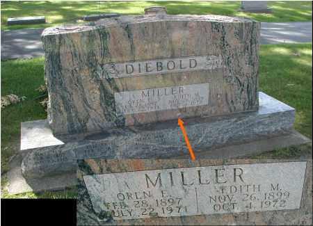 MILLER, EDITH M. - DuPage County, Illinois | EDITH M. MILLER - Illinois Gravestone Photos