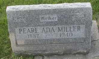 MILLER, PEARL ADA - DuPage County, Illinois | PEARL ADA MILLER - Illinois Gravestone Photos