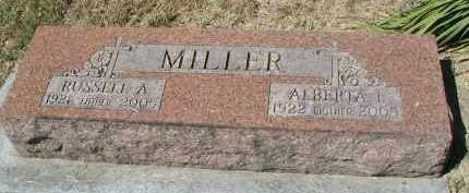 MILLER, RUSSELL A. - DuPage County, Illinois | RUSSELL A. MILLER - Illinois Gravestone Photos