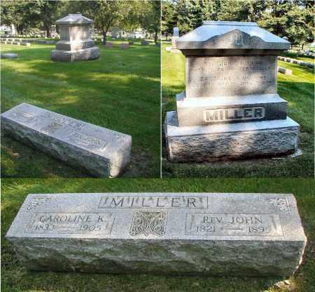 MILLER, CAROLINE K. - DuPage County, Illinois | CAROLINE K. MILLER - Illinois Gravestone Photos
