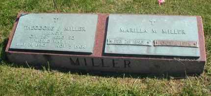 MILLER, MARILLA M. - DuPage County, Illinois | MARILLA M. MILLER - Illinois Gravestone Photos