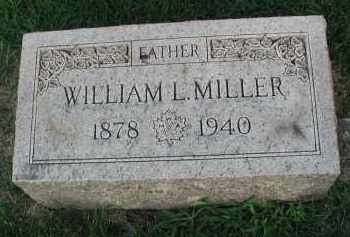 MILLER, WILLIAM L. - DuPage County, Illinois | WILLIAM L. MILLER - Illinois Gravestone Photos