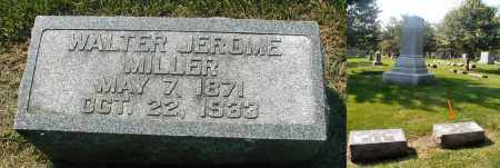 MILLER, WALTER JEROME - DuPage County, Illinois | WALTER JEROME MILLER - Illinois Gravestone Photos