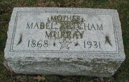KETCHAM MURRAY, MABEL - DuPage County, Illinois | MABEL KETCHAM MURRAY - Illinois Gravestone Photos