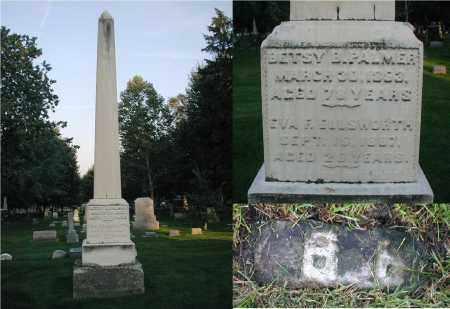 PALMER, BETSY B. - DuPage County, Illinois   BETSY B. PALMER - Illinois Gravestone Photos
