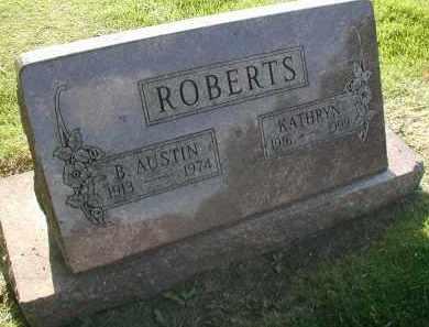 ROBERTS, B. AUSTIN - DuPage County, Illinois | B. AUSTIN ROBERTS - Illinois Gravestone Photos