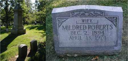 ROBERTS, MILDRED - DuPage County, Illinois | MILDRED ROBERTS - Illinois Gravestone Photos