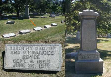 ROYCE, DOROTHY - DuPage County, Illinois | DOROTHY ROYCE - Illinois Gravestone Photos