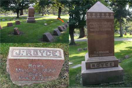 ROYCE, JONATHAN - DuPage County, Illinois | JONATHAN ROYCE - Illinois Gravestone Photos