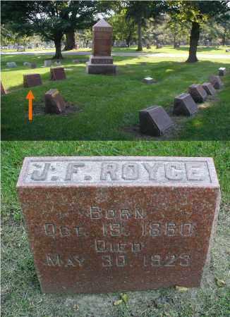 ROYCE, JONATHAN F. - DuPage County, Illinois   JONATHAN F. ROYCE - Illinois Gravestone Photos