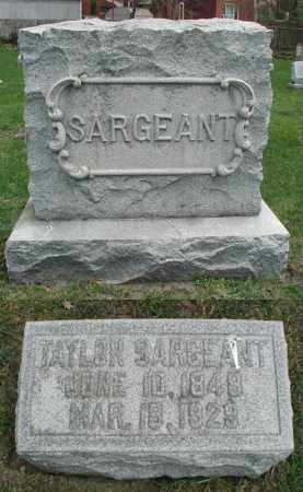 SARGEANT, TAYLOR - DuPage County, Illinois | TAYLOR SARGEANT - Illinois Gravestone Photos