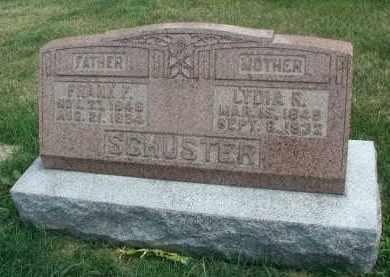 SCHUSTER, LYDIA R. - DuPage County, Illinois | LYDIA R. SCHUSTER - Illinois Gravestone Photos