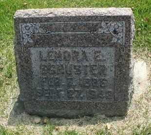 SCHUSTER, LENORA E. - DuPage County, Illinois | LENORA E. SCHUSTER - Illinois Gravestone Photos